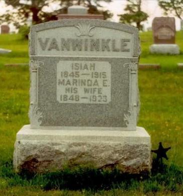 VANWINKLE, MARINDA - Ringgold County, Iowa | MARINDA VANWINKLE