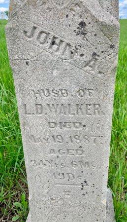 WALKER, JOHN A. - Ringgold County, Iowa | JOHN A. WALKER