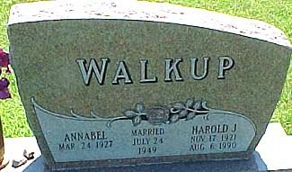 WALKUP, HAROLD J. - Ringgold County, Iowa   HAROLD J. WALKUP