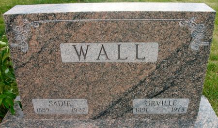 WALL, SADIE RUTH (SHAFFER) - Ringgold County, Iowa | SADIE RUTH (SHAFFER) WALL