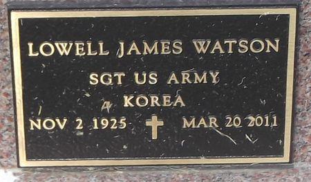 WATSON, LOWELL JAMES - Ringgold County, Iowa   LOWELL JAMES WATSON