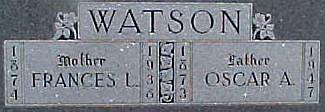 WATSON, OSCAR A. - Ringgold County, Iowa | OSCAR A. WATSON