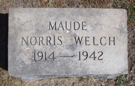 WELCH, MAUDE - Ringgold County, Iowa | MAUDE WELCH