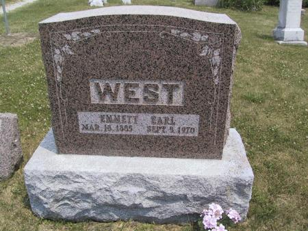 WEST, EMMETT EARL - Ringgold County, Iowa | EMMETT EARL WEST