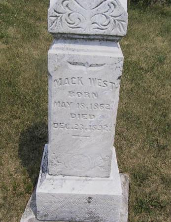 WEST, MACK - Ringgold County, Iowa | MACK WEST