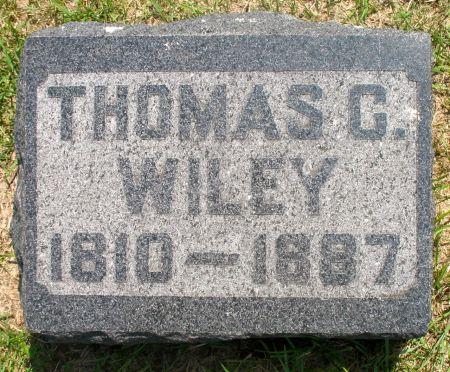 WILEY, THOMAS C. - Ringgold County, Iowa   THOMAS C. WILEY