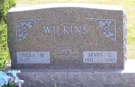 WILKINS, IRVIN G. - Ringgold County, Iowa | IRVIN G. WILKINS