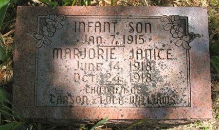 WILLIAMS, MARJORIE JANICE - Ringgold County, Iowa | MARJORIE JANICE WILLIAMS