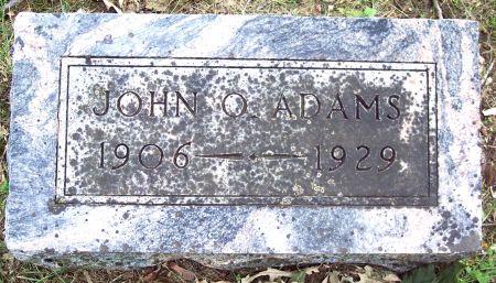 ADAMS, JOHN ORRIE - Sac County, Iowa | JOHN ORRIE ADAMS