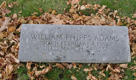 ADAMS, WILLIAM PHIPPS - Sac County, Iowa | WILLIAM PHIPPS ADAMS