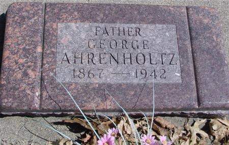 AHRENHOLTZ, GEORGE - Sac County, Iowa | GEORGE AHRENHOLTZ
