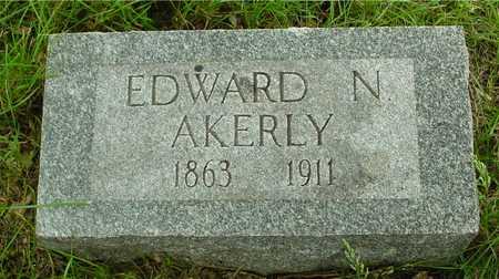 AKERLY, EDWARD N. - Sac County, Iowa | EDWARD N. AKERLY