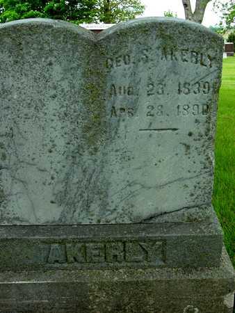 AKERLY, GEORGE S. - Sac County, Iowa | GEORGE S. AKERLY