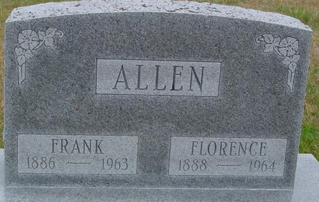 ALLEN, FRANK & FLORENCE - Sac County, Iowa | FRANK & FLORENCE ALLEN