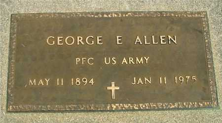ALLEN, GEORGE E. - Sac County, Iowa | GEORGE E. ALLEN