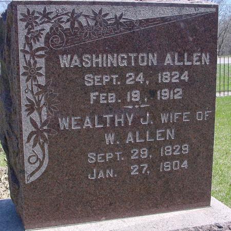 ALLEN, WASHINGTON - Sac County, Iowa | WASHINGTON ALLEN