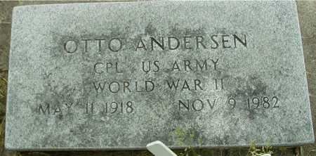 ANDERSEN, OTTO - Sac County, Iowa   OTTO ANDERSEN