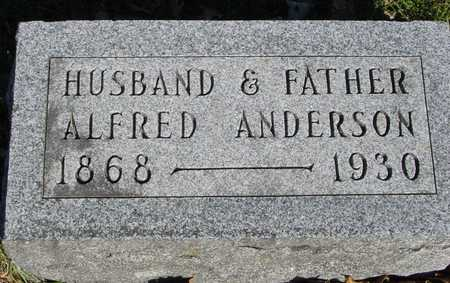 ANDERSON, ALFRED - Sac County, Iowa | ALFRED ANDERSON