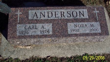 ANDERSON, CARL A - Sac County, Iowa | CARL A ANDERSON
