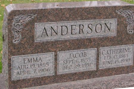 ANDERSON, JACOB & EMMA - Sac County, Iowa | JACOB & EMMA ANDERSON