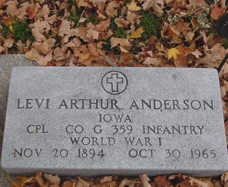 ANDERSON, LEVI ARTHUR - Sac County, Iowa | LEVI ARTHUR ANDERSON