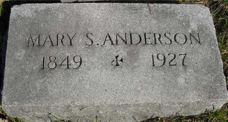 ANDERSON, MARY S. - Sac County, Iowa   MARY S. ANDERSON