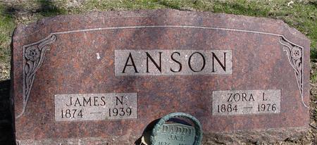 ANSON, JAMES & ZORA - Sac County, Iowa | JAMES & ZORA ANSON