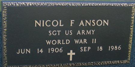 ANSON, NICOL F. - Sac County, Iowa | NICOL F. ANSON