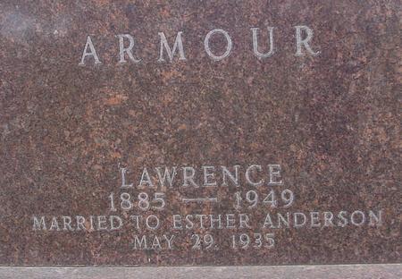 ARMOUR, LAWRENCE - Sac County, Iowa   LAWRENCE ARMOUR