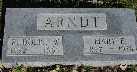 ARNDT, RUDOLPH & MARY E. - Sac County, Iowa | RUDOLPH & MARY E. ARNDT