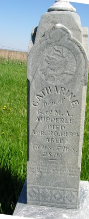AUPPERLE, CATHARINE - Sac County, Iowa | CATHARINE AUPPERLE