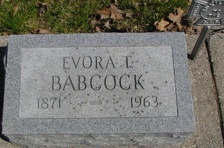 BABCOCK, EVORA T. - Sac County, Iowa | EVORA T. BABCOCK