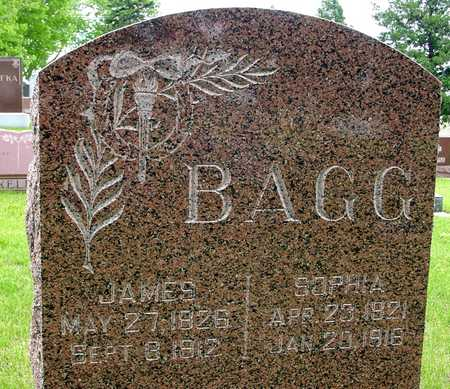 BAGG, JAMES & SOPHIA - Sac County, Iowa   JAMES & SOPHIA BAGG
