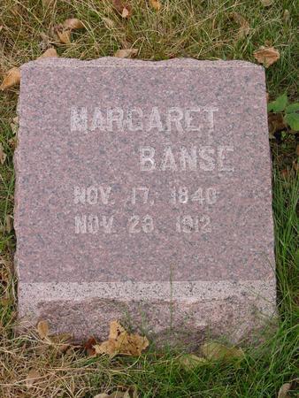 BANSE, MARGARET - Sac County, Iowa | MARGARET BANSE