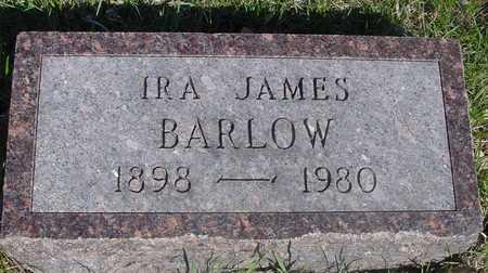 BARLOW, IRA JAMES - Sac County, Iowa | IRA JAMES BARLOW