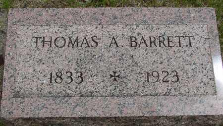 BARRETT, THOMAS A. - Sac County, Iowa | THOMAS A. BARRETT