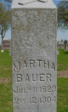BAUER, MARTHA - Sac County, Iowa   MARTHA BAUER