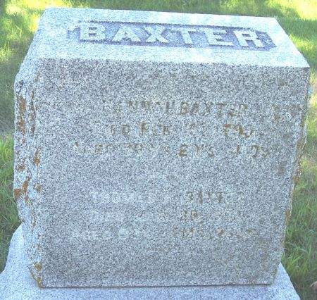 HANBY BAXTER, HANNAH - Sac County, Iowa | HANNAH HANBY BAXTER