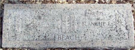 BEACH, BERT A - Sac County, Iowa | BERT A BEACH