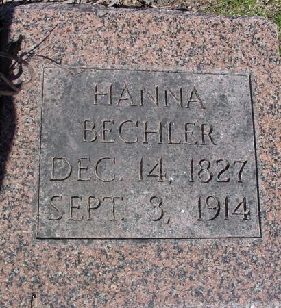BECHLER, HANNA - Sac County, Iowa | HANNA BECHLER