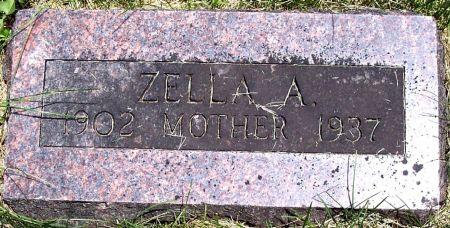 FINCH BECK, ZELLA ALMIRA - Sac County, Iowa | ZELLA ALMIRA FINCH BECK