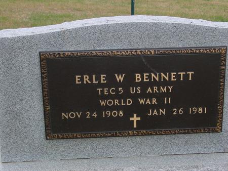 BENNETT, ERLE W. - Sac County, Iowa | ERLE W. BENNETT