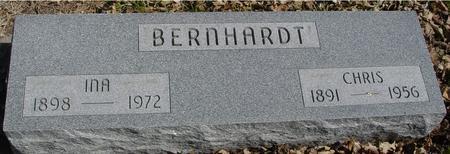 BERNHARDT, CHRIS & INA - Sac County, Iowa | CHRIS & INA BERNHARDT