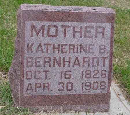 BERNHARDT, KATHERINE B. - Sac County, Iowa   KATHERINE B. BERNHARDT