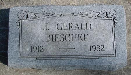 BIESCHKE, J. GERALD - Sac County, Iowa   J. GERALD BIESCHKE
