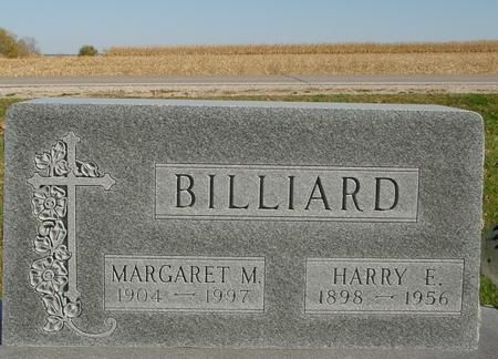 BILLIARD, HARRY & MARGARE - Sac County, Iowa | HARRY & MARGARE BILLIARD