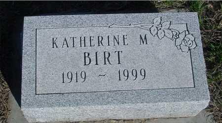 BIRT, KATHERINE M. - Sac County, Iowa | KATHERINE M. BIRT