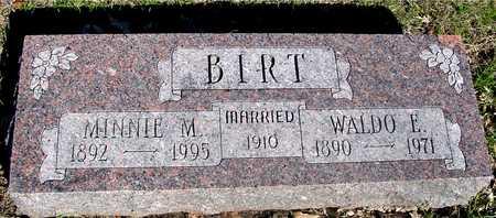 BIRT, WALDO F. - Sac County, Iowa | WALDO F. BIRT