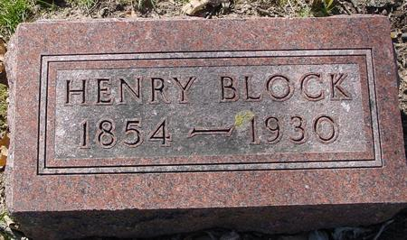 BLOCK, HENRY - Sac County, Iowa | HENRY BLOCK