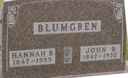 BLUMGREN, JOHN & HANNAH - Sac County, Iowa | JOHN & HANNAH BLUMGREN